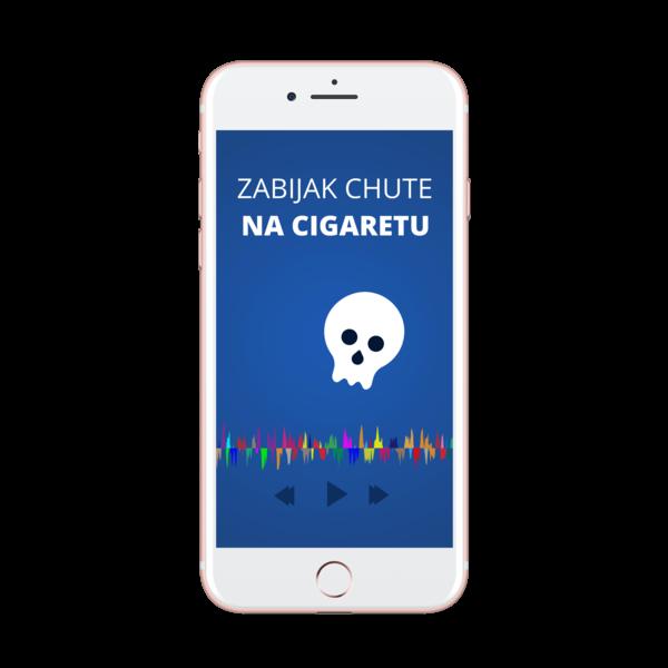 zabijak chute na cigaretu